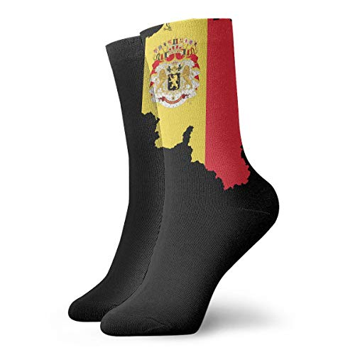 Belgium Map Flag With Coat Of Arms PNG