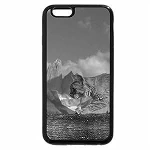 iPhone 6S Case, iPhone 6 Case (Black & White) - Catwalk