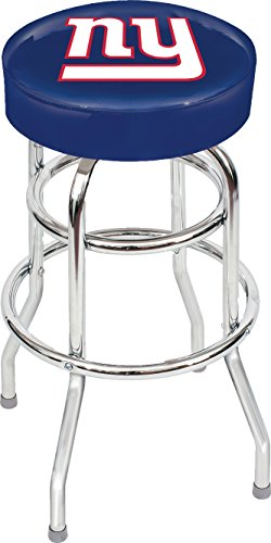 Shop Giants Furniture - Imperial Officially Licensed NFL Furniture: Swivel Seat Bar Stool, New York Giants