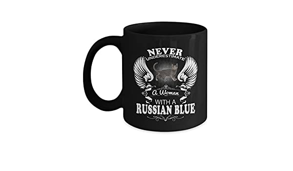 Russian Blue Mug 1 Russian Blue Cat Mug Russian Blue Coffee Mug Cute Gifts For Dad Funny Mom Kids Love Cats Tea Beer Travel Cool As Seen on T Shirt