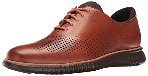 Cole Haan Men's 2.Zerogrand Laser Wing Oxford, British tan/Java, 9.5 Medium US ()
