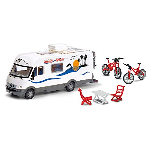 Price comparison product image Dickie Toys Holiday Camper Van Vehicle Playset