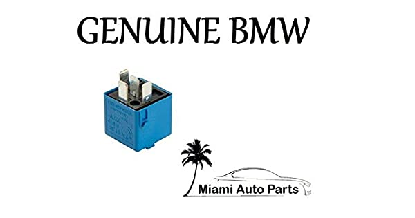 Azul Cielo 1992//–/2011 BMW Multi Purpose Relay 4-Prong