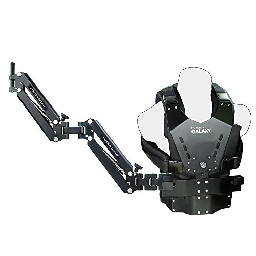 FLYCAM Galaxy Dual Arm and Vest Body Mounted Steadycam For Handheld Stabilizer For Video Camera Camcorder up to 10kg/22lbs (GLXY-AV) by FLYCAM