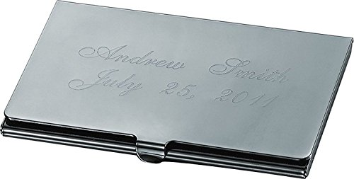Metal Business Card Personalized Gun Case Card Gun Elwood Metal Elwood Business Personalized Case SfRFB4wqcx
