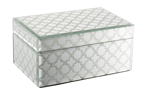 Geff House Reflective Nights Jewelry Keepsake Box