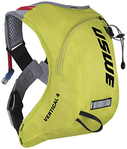 USWE Vertical 4 Hydration Pack (Crazy Yellow) by USWE