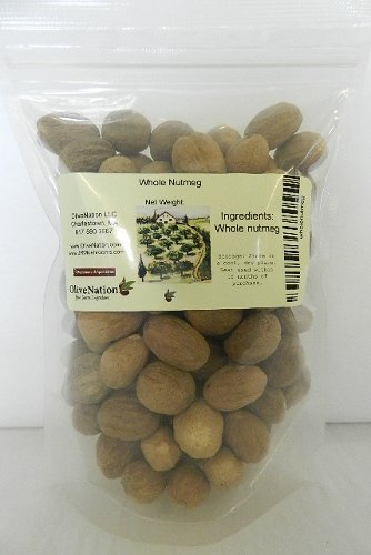 Whole Nutmeg 4 oz by OliveNation by OliveNation