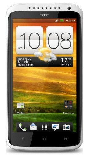 HTC One X Unlocked GSM Android SmartPhone - No Warranty (White) with Beats Audio