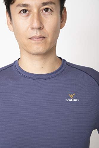 VENEX (ベネクス) リカバリーウェア フリーフィールウォーム ロングスリーブ メンズ 部屋着 長袖 インナー パジャマ 疲れとり 疲労回復 快眠 安眠 吸湿発熱