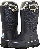 BOGS Unisex Slushie Snow Boot, Web geo Dark Blue/Multi, 3 Medium US Little Kid
