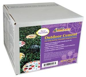 Mosaic Stone Cement - Jennifer's Mosaics Outdoor Cement, 20-Pound