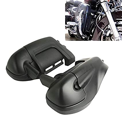 TCMT Lower Vented Fairing Box Pods 6.5 Speaker For Harley Touring Road King Street Glide Electra Glide Ultra-Classic Road Glide 83-13