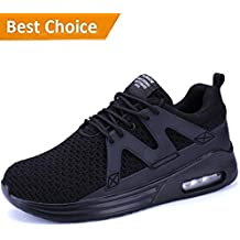 KRIMUS Mens Air Max Shoes/Red Shoes for Men/Sneakers Men/Running Shoes Men/Sneakers Fashion
