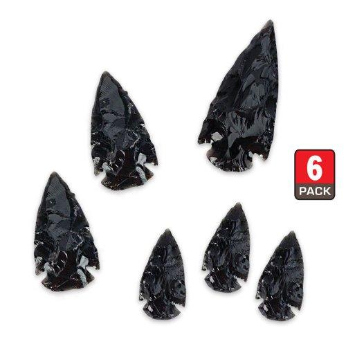 Black Obsidian Arrowhead Collection