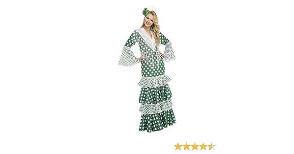 My Other Me Me-203868 Disfraz de flamenca feria para mujer, color ...