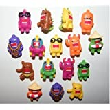 Domo Figure Charms 16 Colored Figures