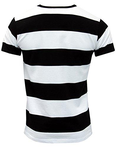 Madcap England Herren T-Shirt mehrfarbig schwarz / weiß