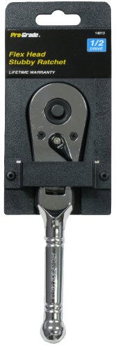 Pro-Grade 14013 1/2-Inch Drive with 6-Inch Flex Head Stubby -