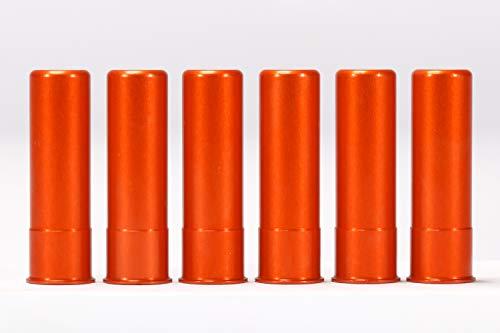 - A-ZOOM 20 Gauge SNAP Cap, Orange, 6PK