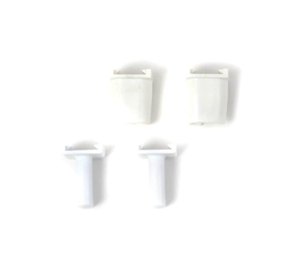 Whirlpool 819091 Refrigerator Shelf Support Kit Genuine Original Equipment Manufacturer (OEM) Part