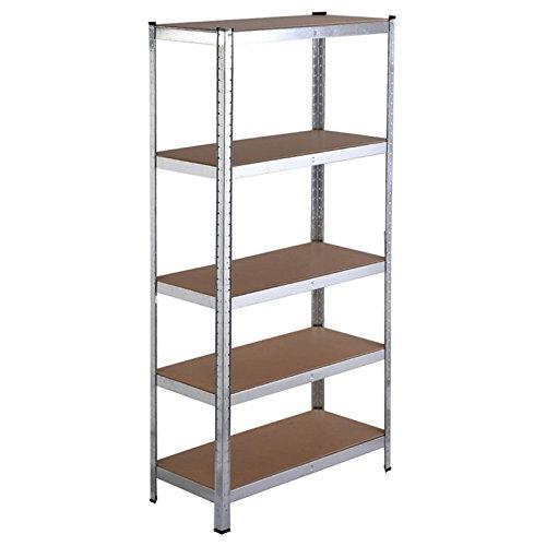 5 Level Heavy Duty Shelf Garage Steel Metal Storage Rack Adjustable Shelves TKT-11 from TKT-11