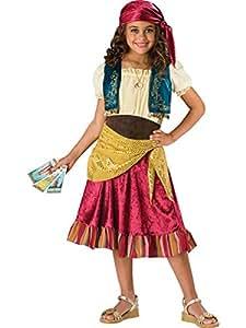 InCharacter Costumes Big Girls' Gypsy Dress Set Costume, Multi Color, Medium by InCharacter