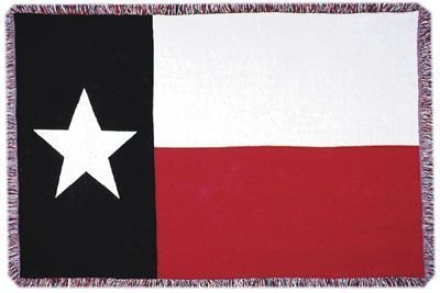 Three Layer Throw (Texas State Flag 3 Layer Afghan Throw Blanket 50