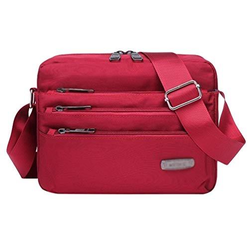 Bolsas Aire Rojo Para Bandolera Ir Libre Retro Para Byqny Excursión Crossbody Bolsa De Hombro De De Deportes Bolso Al Mensajero 0AHvHIxq