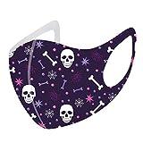 MASZONE [US Stock] Halloween Face Mask Reusable for