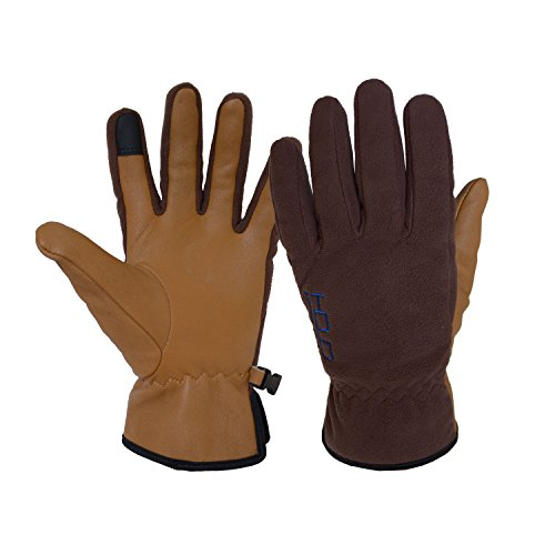 Brown Riding Gloves - 9
