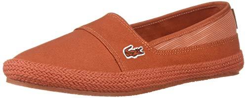 Lacoste Women's Marice Sneaker red, 8 Medium ()