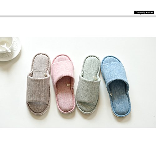 Mémoire Peluche Hiver Coton Chaud Pink Pantoufles Femmes Maison Chaussons Mousse Hommes Asifn y7qpO0