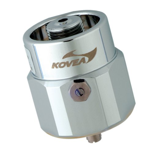 Kovea LPG Adaptor, Small, Silver (Gas Canister Stove Msr Fuel compare prices)