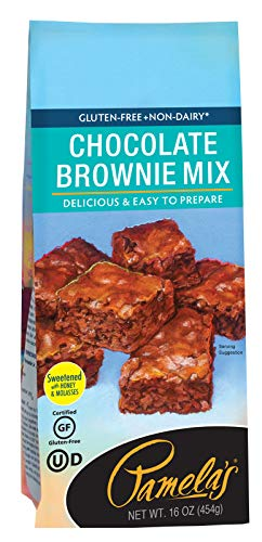 (Pamela's Products Gluten Free Chocolate Brownie Mix, 16 Ounce)