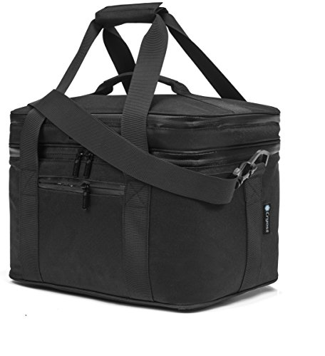 Cryost Cooler Insulated Lunch Bag, Black