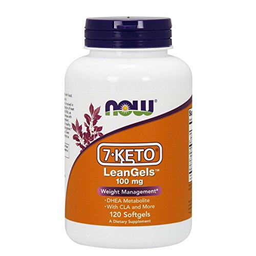 NOW 7 KETO LeanGels 100 Softgels product image
