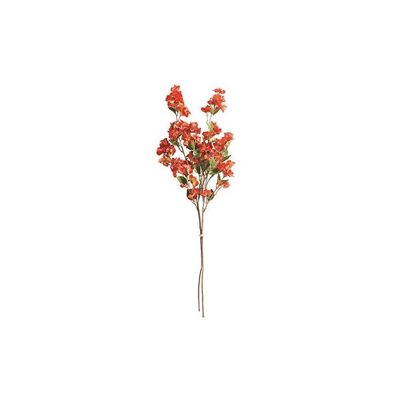 "silk flower arrangements napa home & garden bougainvillea 54"" bundle/2"