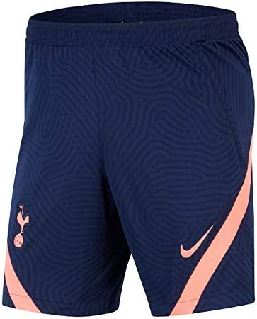 Amazon Com Nike 2020 2021 Tottenham Training Shorts Navy Clothing