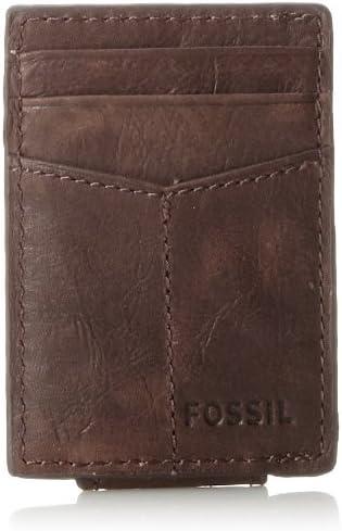 ejemplo de cartera de hombre fossil