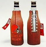 (2) NFL CLEVELAND BROWNS BOTTLE COOLIE KOOZIES NEW! For Sale