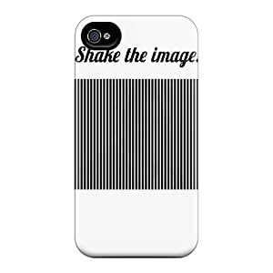 Case Cover Protector For Iphone 4/4s Shake The Image Case