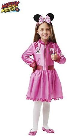 Disney - Disfraz de Minnie Mouse rosa oficial para niña, infantil ...