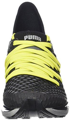 Puma Herren Ignite Senza Limiti Netfit Nc Outdoor Fitnessschuhe Schwarz (black-nrgy Giallo)