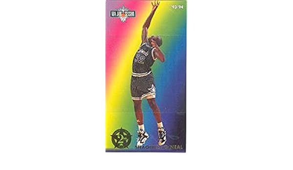 Amazon.com: 1993-94 Jam Session Second Year Stars #7 Shaquille ONeal NM-MT Magic: Collectibles & Fine Art