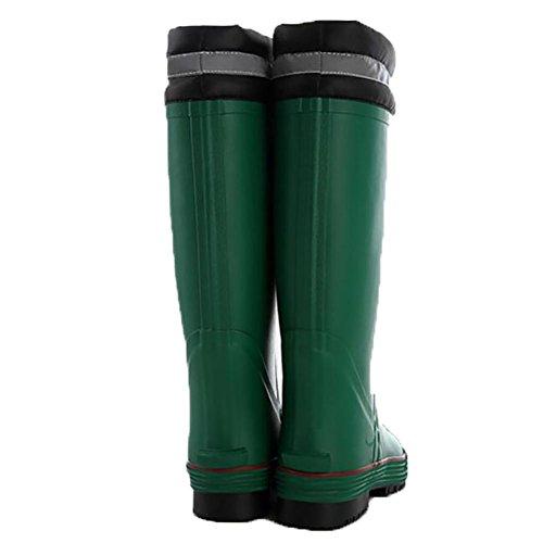 SYYUN Inglaterra caucho natural de gran tamaño de las mujeres charcos cargador de lluvia al aire libre 1