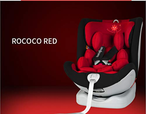 Child Safety seatChild Safety Seat Car with All-Inclusive Stroller 9 Months to 12 Years Old Universal,Red (Car Seats 9 Months To 12 Years)