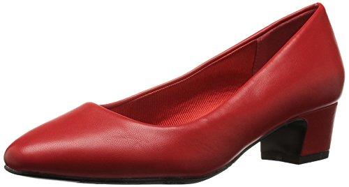 Facile Strada Delle Donne Pompa Vestito Rosso Prim