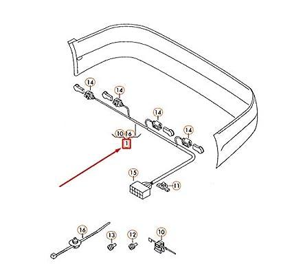 GTV INVESTMENT Polo 9N Arnés de cableado Trasero para sensores ...