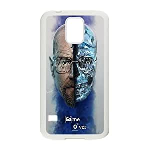 Breaking Bad Game Over Samsung Galaxy S5 Cell Phone Case White Exquisite gift (SA_689635)